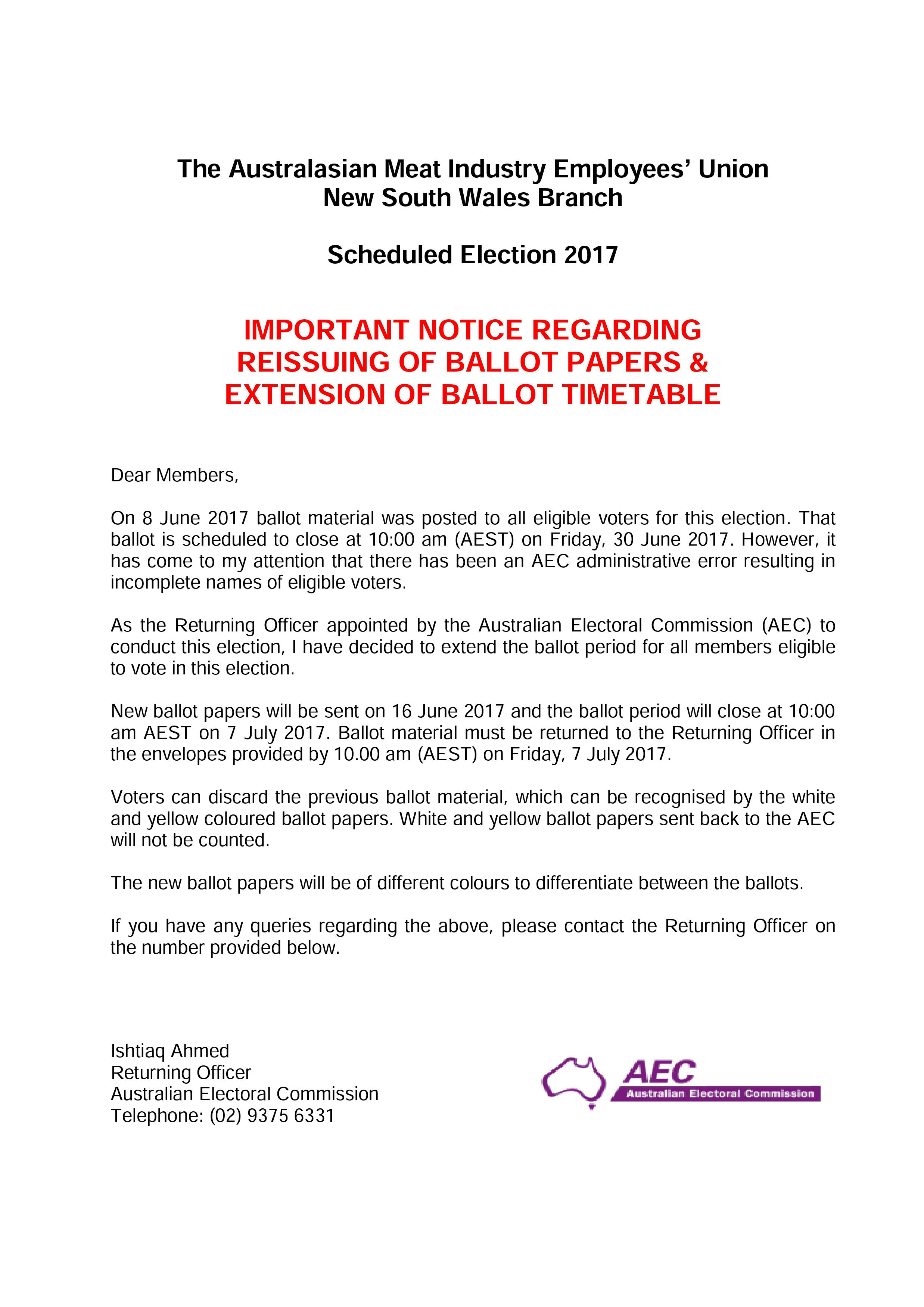 How To Address A Letter Be A Part Of The Australian Union Movement